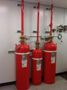 FM200 fire suppression system