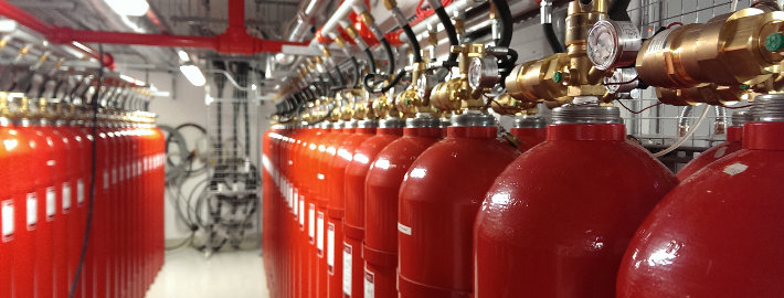 IG55 Argonite Fire Suppression System