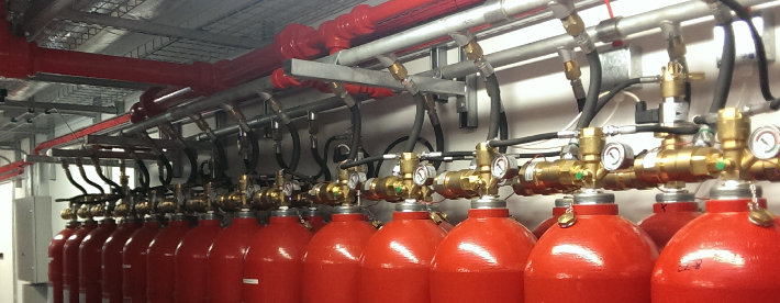 VOLTA fire suppression system