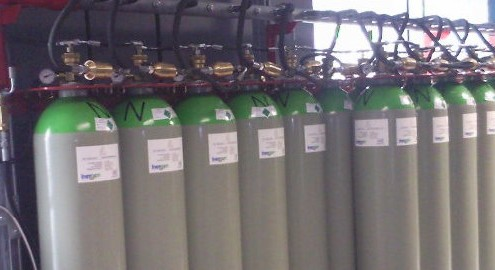 Cable and Wireless Inergen Fire Suppression System