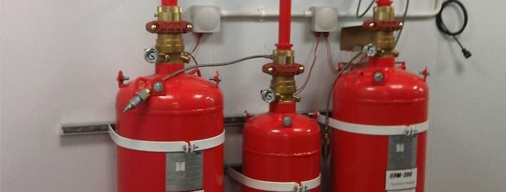 Telia FM200 Extinguishing & Detection System